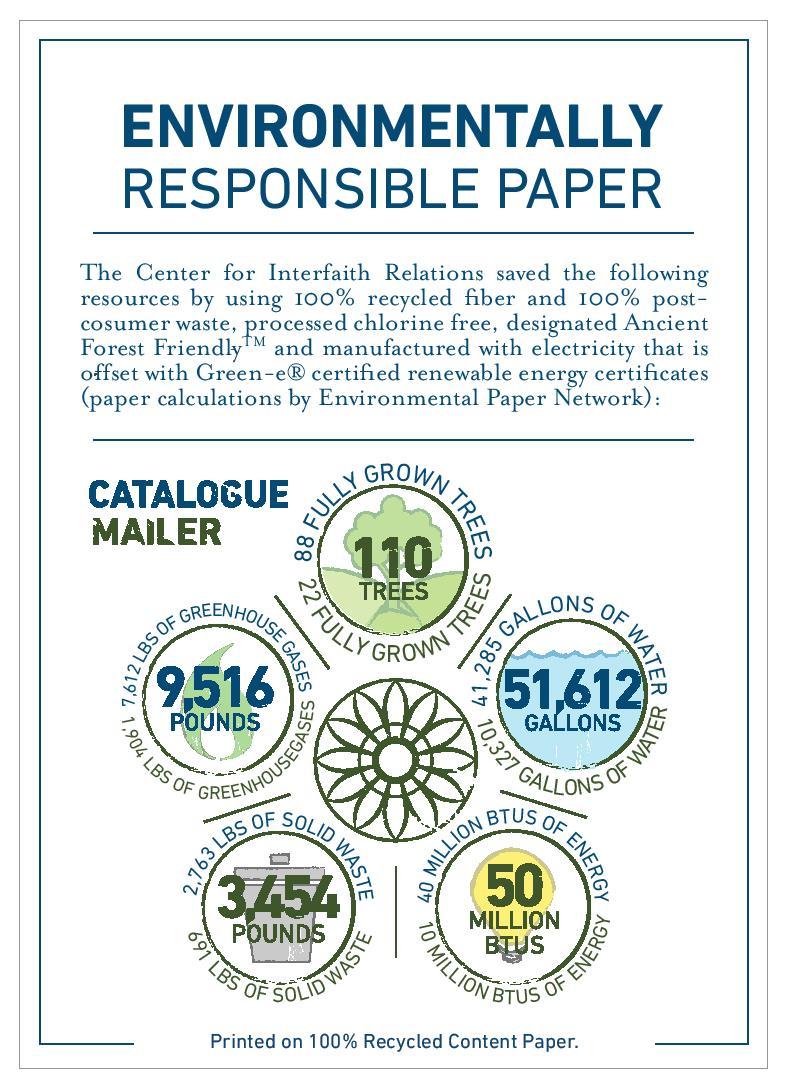 Environmentally Responsibly Paper
